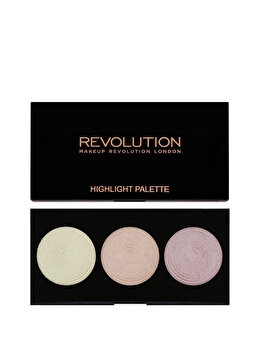 Paleta de farduri Highlight, 15 g de la Makeup Revolution London