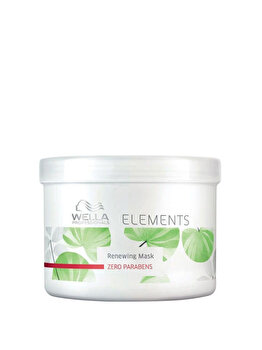 Masca regeneranta pentru par colorat si deteriorat Elements, 500 ml de la Wella Professionals