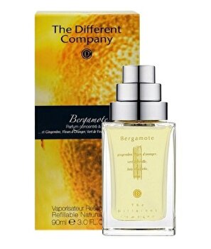Apa de toaleta The Different Company Bergamote, 50 ml, pentru femei