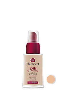 Fond de ten Dermacol 24 H Control Make-up cu Q10, nr. 01, 30 ml de la Dermacol