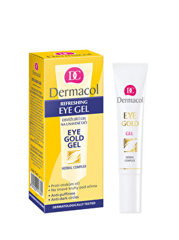 Crema anti-cearcan Gold Gel, 15 ml