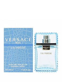 Apa de toaleta Versace Man Eau Fraiche, 30 ml, pentru barbati de la Versace