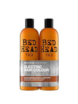 Set Bed Head Colour Goddess: Sampon, 750 ml + Balsam 750 ml, 750 ml de la Tigi