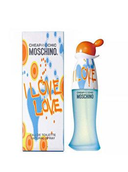 Apa de toaleta Moschino I Love Love, 30 ml, pentru femei de la Moschino