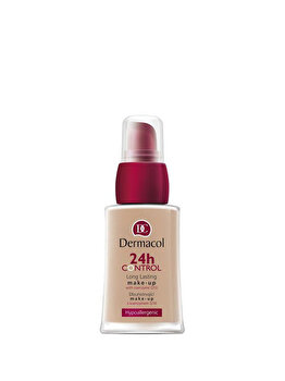 Fond de ten Dermacol 24 H Control Make-up cu Q10, nr. 03, 30 ml de la Dermacol