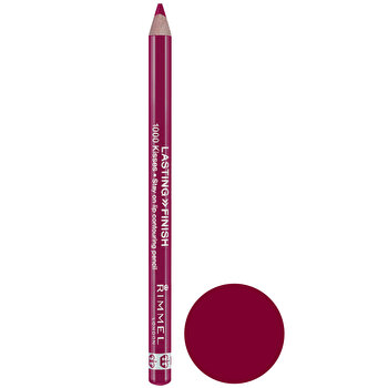 Creion de buze Rimmel London Lasting Finish, 071 Cherry Kiss, 1.2 g de la Rimmel