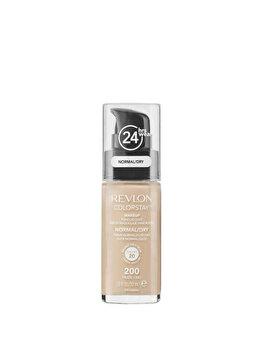 Fond de ten Colorstay pentru ten normal uscat Nude 200, 30 ml de la Revlon