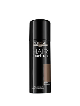 Spray corector profesional pentru acoperirea firelor albe de par L'Oréal Professionnel Hair Touch Up Dark Blonde, 75 ml de la L'Oréal Professionnel