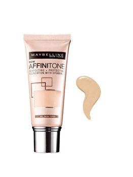 Fond de ten Maybelline New York Affinitone 03 Light Sandbeige, 30 ml de la Maybelline