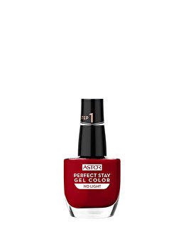 Lac de unghii Perfect Stay Gel Color, 019 Fashionably Red, 12 ml