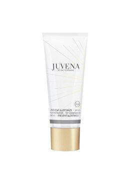 Crema de zi pentru toate tipurile de ten Prevent & Optimize Top Protection SPF30, 40 ml de la Juvena