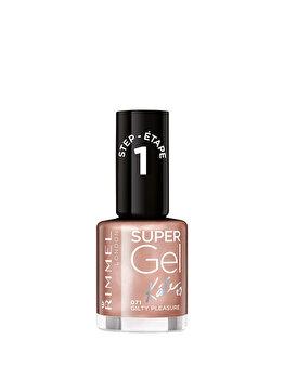 Lac de unghii Super Gel By Kate, 071 Guilty Pleasure, 12 ml de la Rimmel