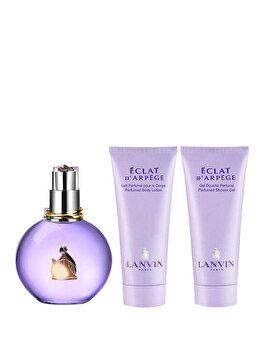 Set cadou Lanvin Eclat D'Arpege (Apa de parfum 100 ml + Lotiune de corp 100 ml + Gel de dus 100 ml), pentru femei de la Lanvin