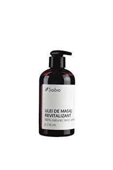 Ulei de masaj Revitalizant, 236 ml de la Sabio