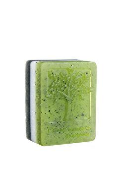 Sapun detoxifiant cu Carbune activ, Kaolin si Spirulina, 130 g de la Sabio