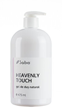 Gel de dus natural Heavenly Touch, 475 ml de la Sabio