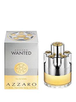 Apa de toaleta Azzaro Wanted, 50 ml, pentru barbati de la Azzaro