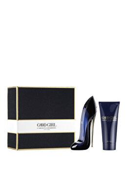 Set cadou Carolina Herrera Good Girl (Apa de parfum 80 ml + Lotiune de corp 100 ml), pentru femei de la Carolina Herrera