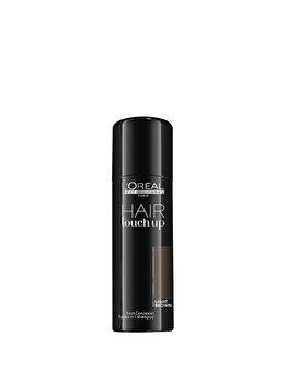 Spray corector profesional pentru acoperirea firelor albe de par L'Oréal Professionnel Hair Touch Up Light Brown, 75 ml de la L'Oréal Professionnel