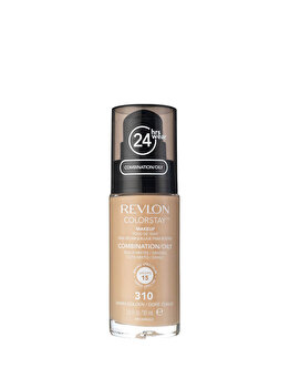 Fond de ten Colorstay pentru ten mixt-gras, 310 Warm Golden, 30 ml de la Revlon