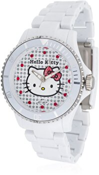 Ceas Hello Kitty Nichinan White HK1464-041 de la Hello Kitty