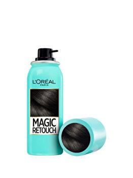 Spray instant Magic Retouch pentru camuflarea radicinilor crescute intre colorari 1Negru, 75 ml de la L Oreal Paris