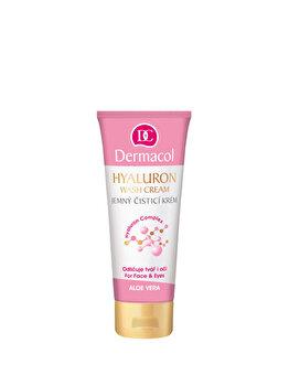 Crema demachianta delicata cu Acid Hyaluronic, 100 ml de la Dermacol