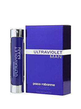Apa de toaleta Paco Rabanne Ultraviolet, 100 ml, pentru barbati de la Paco Rabanne