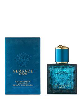 Apa de toaleta Versace Eros, 30 ml, pentru barbati de la Versace
