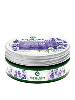 Unt de corp cu aroma de Lavanda si Lapte de Vanilie Herbal Care, 200 ml