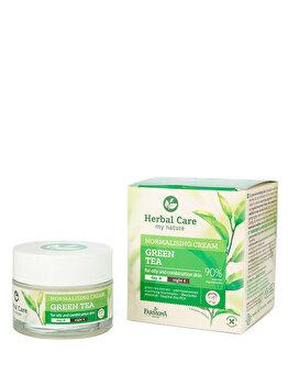 Crema matifianta pentru tenul gras/mixt cu Ceai Verde Herbal Care, 50 ml de la Farmona