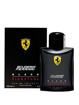 Apa de toaleta Ferrari Black Signature, 125 ml, pentru barbati de la Ferrari
