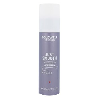 Crema de stilizare a parului drept si ondulat Style Sign Just Smooth Flat Marvel, 100 ml de la Goldwell