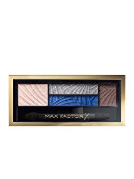 Paleta farduri de ochi Smokey Eye Drama Kit, 06 Azure Allure, 1.8 g de la Max Factor