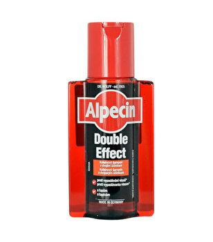 Sampon Double Effect Caffeine impotriva matretii si a caderii parului, 200 ml de la Alpecin