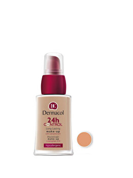 Fond de ten Dermacol 24 H Control Make-Up cu Q10, nr. 04, 30 ml de la Dermacol