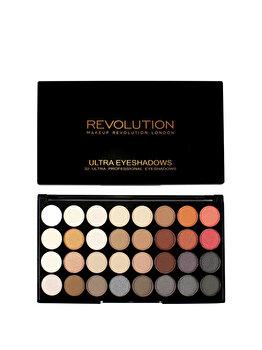 Trusa farduri de ochi Ultra Flawless 2, 32 nuante de la Makeup Revolution London