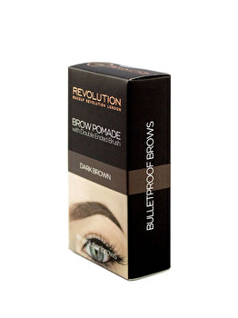 Crema de stilizare pentru sprancene, Dark Brown, 2.5 g de la Makeup Revolution London