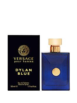 Apa de toaleta Versace Dylan Blue, 50 ml, pentru barbati de la Versace