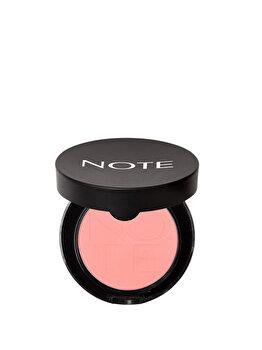 Fard de obraz iluminator compact, 06 Sandy Pink, 5.5 g de la NOTE Cosmetics