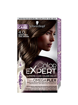 Vopsea de par Color Expert, 4-0 Saten Rece, 146.8 ml de la Schwarzkopf Color Expert