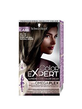 Vopsea de par Color Expert, 5-3 Natural Brown, 146.8 ml de la Schwarzkopf Color Expert