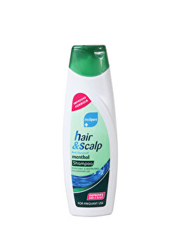 Sampon pentru par si scalp Xpel Menthol, 400 ml de la Xpel Hair Care