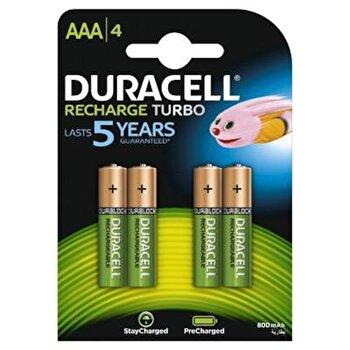 Acumulatori Duracell AAAK4 800mAh de la Duracell