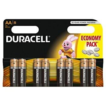 Baterie Duracell Basic AA LR06 8buc de la Duracell
