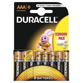 Baterie Duracell Basic AAA LR03 8buc de la Duracell