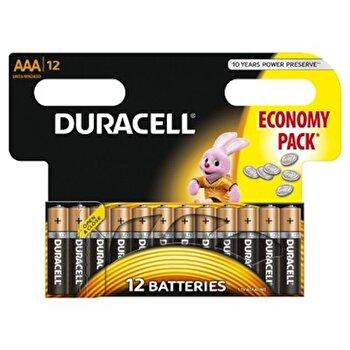 Baterie Duracell Basic AAA LR03 12buc de la Duracell