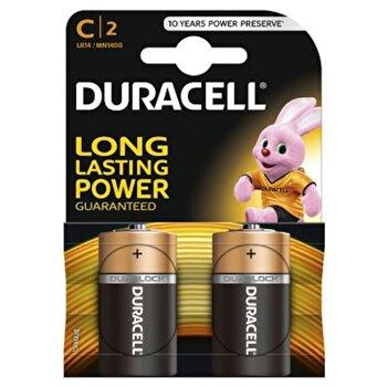 Baterie Duracell Basic C LR14 2buc de la Duracell