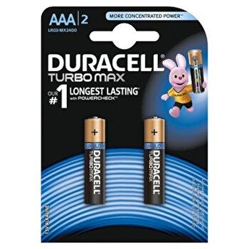 Baterie Duracell Turbo Max AAA LR03 2buc de la Duracell