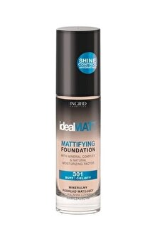 Fond de ten Ideal Matt, nr. 303, 30 ml de la INGRID Cosmetics